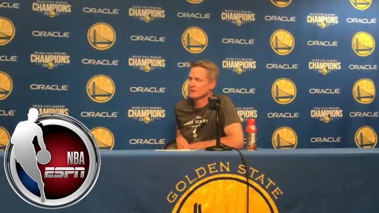 Steve Kerr on having Warriors players coach during timeouts: 'It's their team' | ESPN