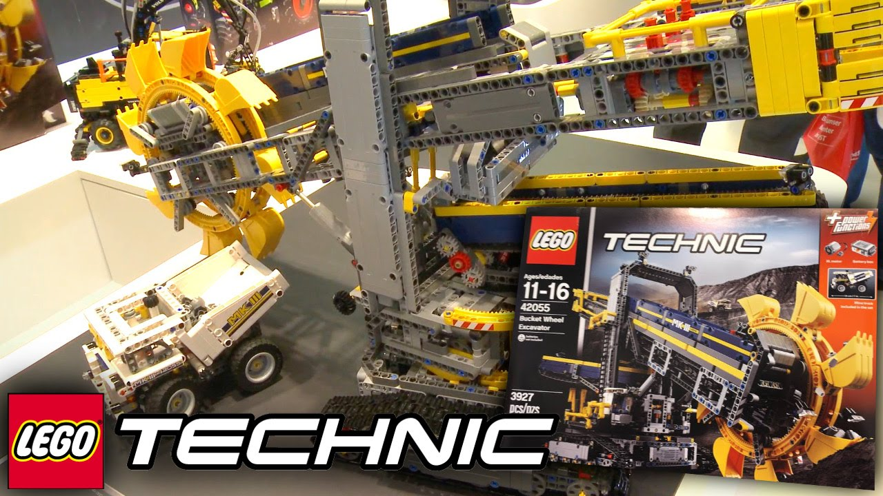 lego technic 2016 42055 bucket wheel excavator. Black Bedroom Furniture Sets. Home Design Ideas