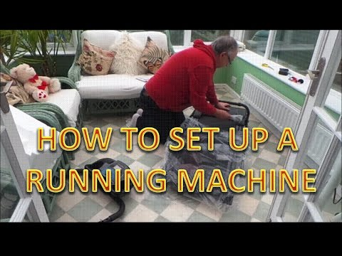 How To Set Up & Use a Treadmill. Unboxing Amazon XM-PRO III running machine