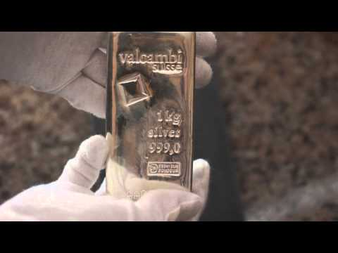 Open Box -  1 kilo Silver Bar - Valcambi (Cast, w/Assay)