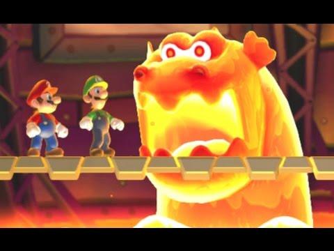 New Super Mario Bros. U Co-op Walkthrough - World 5 - Soda Jungle (All Star Coins)