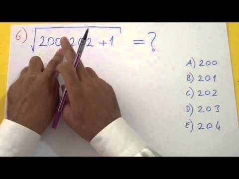 Köklü Sayılar Soru Çözümü Şenol Hoca Matematik