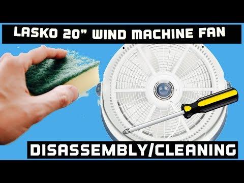 How to Clean Lasko 3300 Wind Fan Machine
