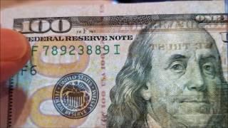 Làm sao mình biết tiền Mỹ   thiệt hay giả ( Hãy xem! )