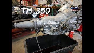 Getriebe Ausbau TH350 Automatikgetriebe Loser Wander (stall speed)