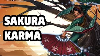 SAKURA KARMA SKIN SPOTLIGHT - LEAGUE OF LEGENDS