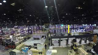 Dematic Promat 2019 Booth Build