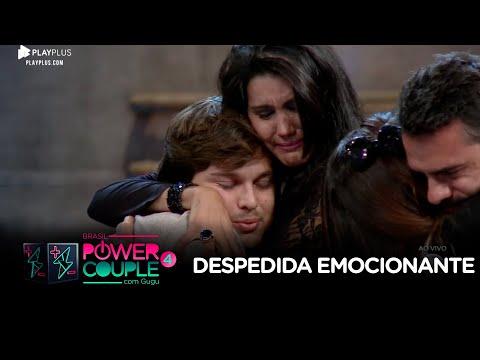 Mariana e Daniel se emocionam ao se despedir de Camila e Lucas