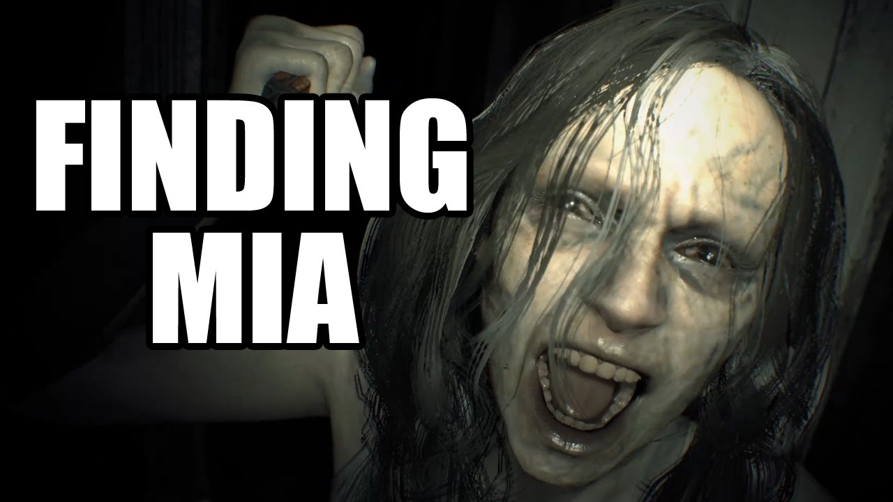Resident Evil 7 Finding Mia Saving Mia Youtube