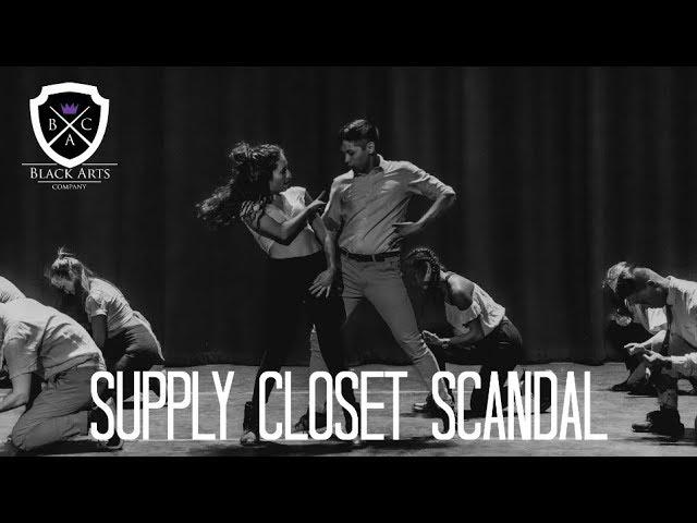 Supply Closet Scandal (THE PURPLE POST)