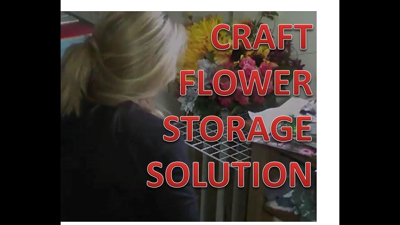 Simple flower storage craftroom projects youtube youtube premium mightylinksfo