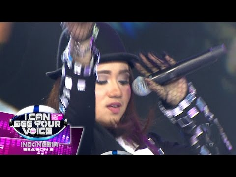 Don't Let Me Down Dari Mak Donna Asik Banget  - I Can See Your Voice (24/4)