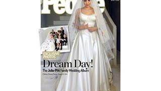 Новость: В прессе появились фото со свадьбы Джоли и Питта.