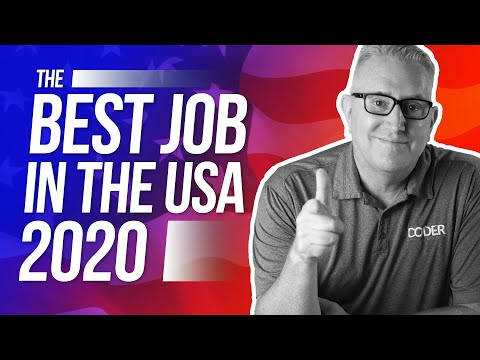 What's The Best Job In The USA In 2020?