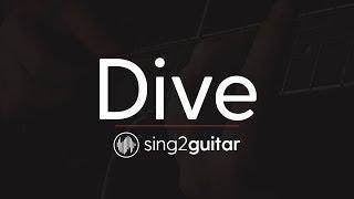 Dive (Acoustic Guitar Karaoke Instrumental) Ed Sheeran
