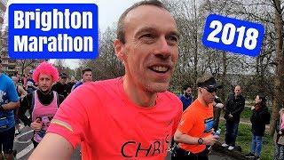 Brighton Marathon 2018 | Race VLOG | Here We Are Running