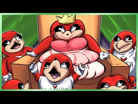 VRChat Ugandan Knuckles - Do You Know The Way Queen!