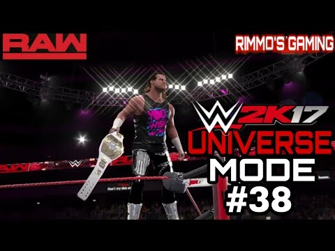 WWE 2K17 UNIVERSE MODE #38 3 STAGES OF HELL