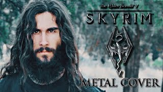 Skyrim theme metal cover by Isidor