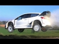 Ott Tanak CRAZY Jump Test | Ford Fiesta WRC 2017 | Rally Mexico by Jaume Soler