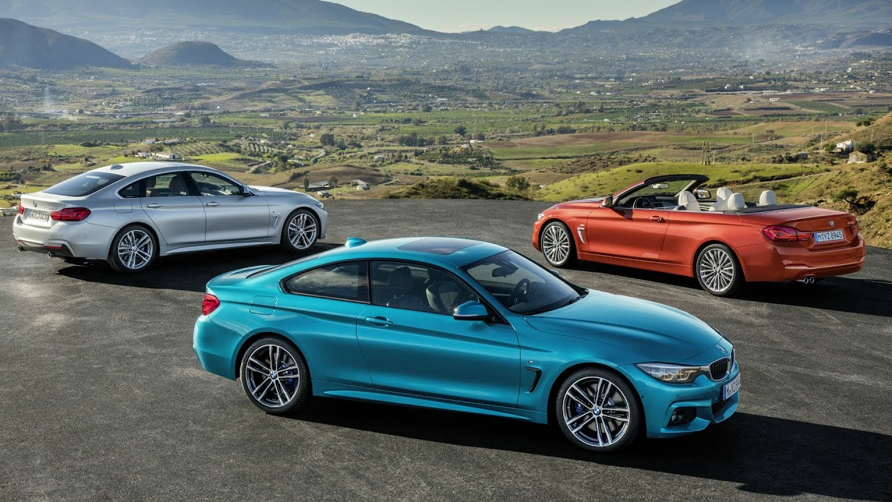 Bmw 4 Series Convertible Coupe And