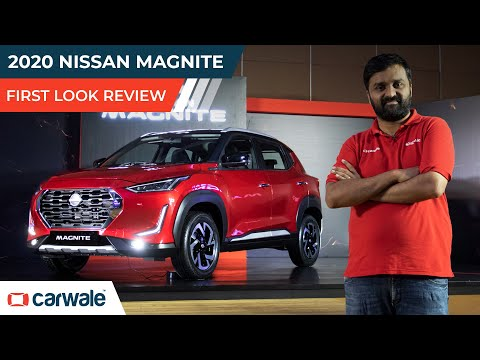 Nissan Magnite First Look Review | Could This Compact SUV be the return for Nissan India ? | CarWale