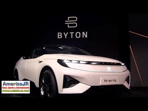 BYTON M-Byte all electric SUV at CES 2019 Las Vegas, NV