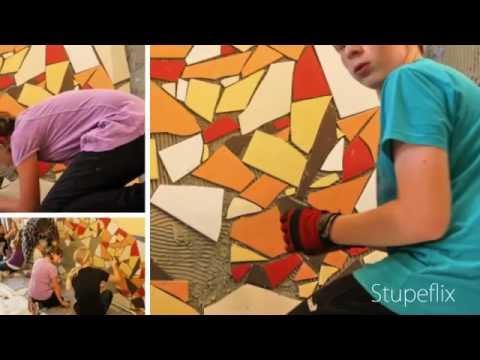 mosaik projekt 2011 foto protokoll 2 projektstart mit vormachen nachmachen youtube. Black Bedroom Furniture Sets. Home Design Ideas
