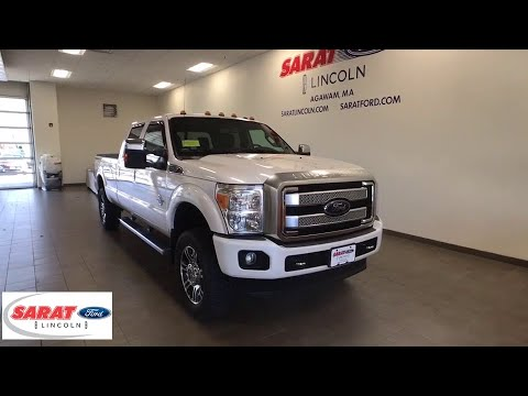 2015 Ford Super Duty F-350 SRW Westfield, Holyoke, West Springfield, Suffield, Agawam, MA Y1041A