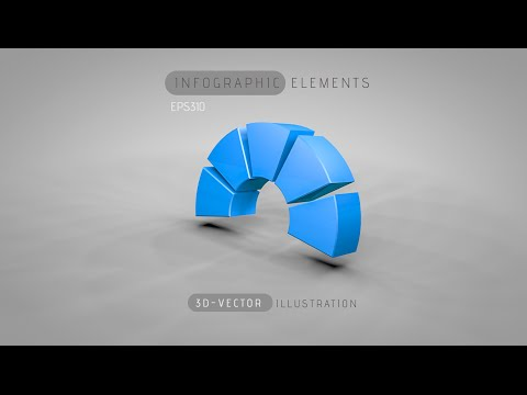 Infographic Tutorial infographic tutorial illustrator logo tutorial : 3D Graphic Design Infographic | Illustrator Cinema 4D C4D ...