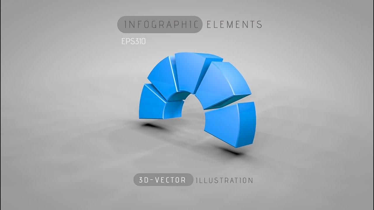 3d graphic design infographic illustrator cinema 4d c4d