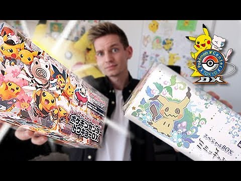 Opening 2 Pokemon Center Exclusive Boxes!!