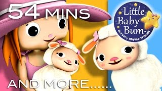 Mary Had A Little Lamb | Plus Lots More Nursery Rhymes | 54 Minutes Compilation from LittleBabyBum