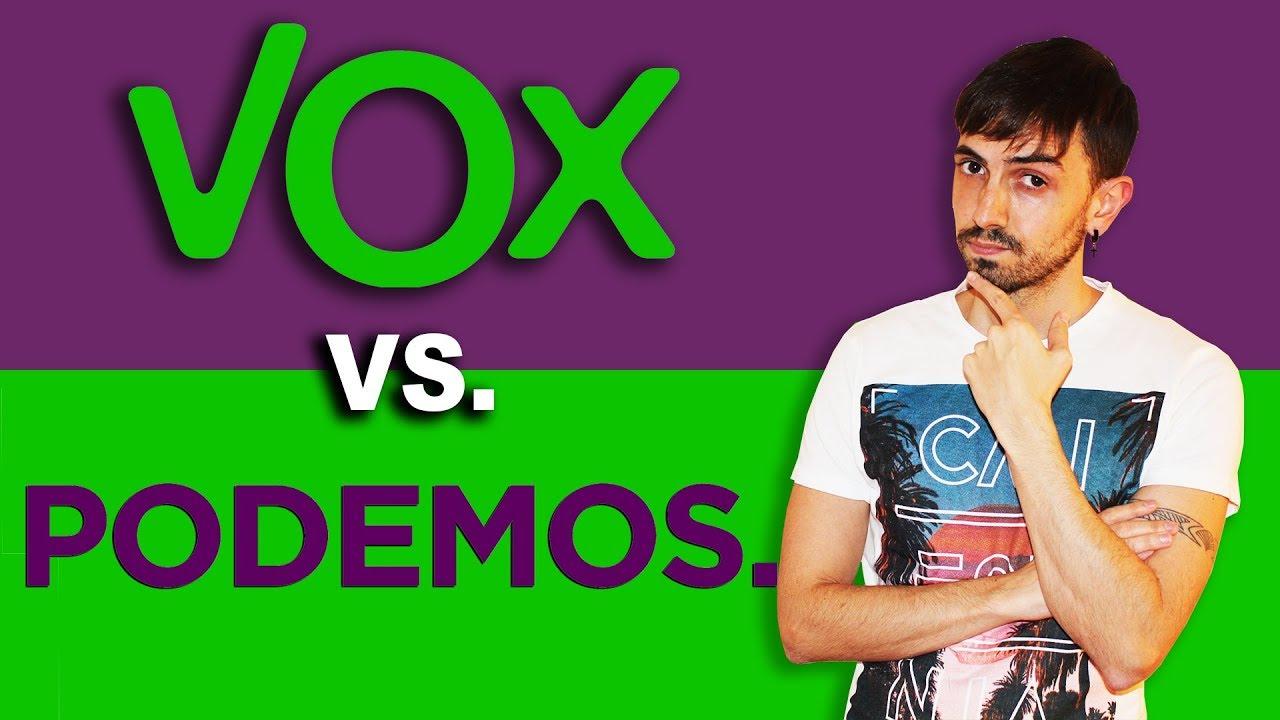Vox vs. Podemos - InfoVlogger