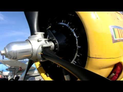 Dan Dugan (ex NASA XV-15 Tilt Rotor Test pilot)  tells about North American Aviation T-28B Trojan