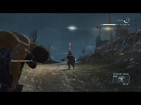MGS V: Ground Zeroes SPEEDRUN! - 5:44 [HARD - NO REFLEX, NO