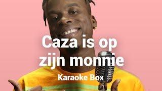 CAZA doet HILARISCHE FAMKE LOUISE 'Op Me Monnie' cover | Karaoke Box