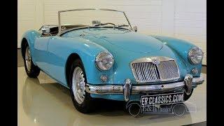 MG MGA Twincam Cabriolet 1959 -VIDEO- www.ERclassics.com