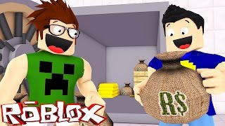 WE ROBBED A BANK! -ROBLOX