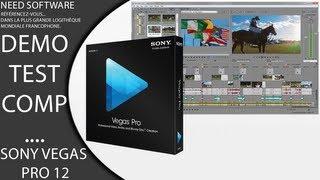 Logiciel de Montage Video/Audio/Image ect.. Avec Sony Vegas Pro 12