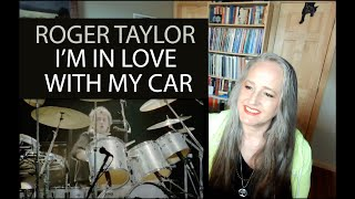 Voice Teacher Reaction to Roger Taylor  - I'm in Love With My Car | Queen Live 1981