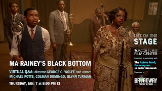 LIFE ON THE STAGE: Ma Rainey's Black Bottom with George C. Wolfe and More