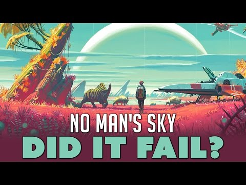 No Man's Sky: DID IT FAIL? - Dude Soup Podcast #83