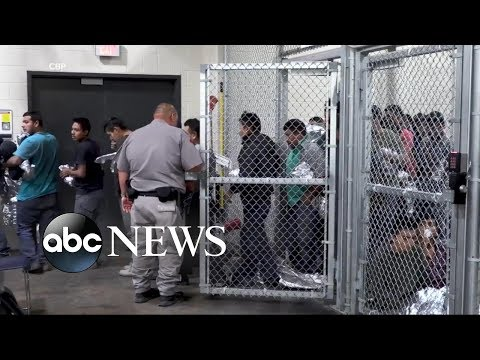 See New Video Showing Inside of Immigration Processing Facility!