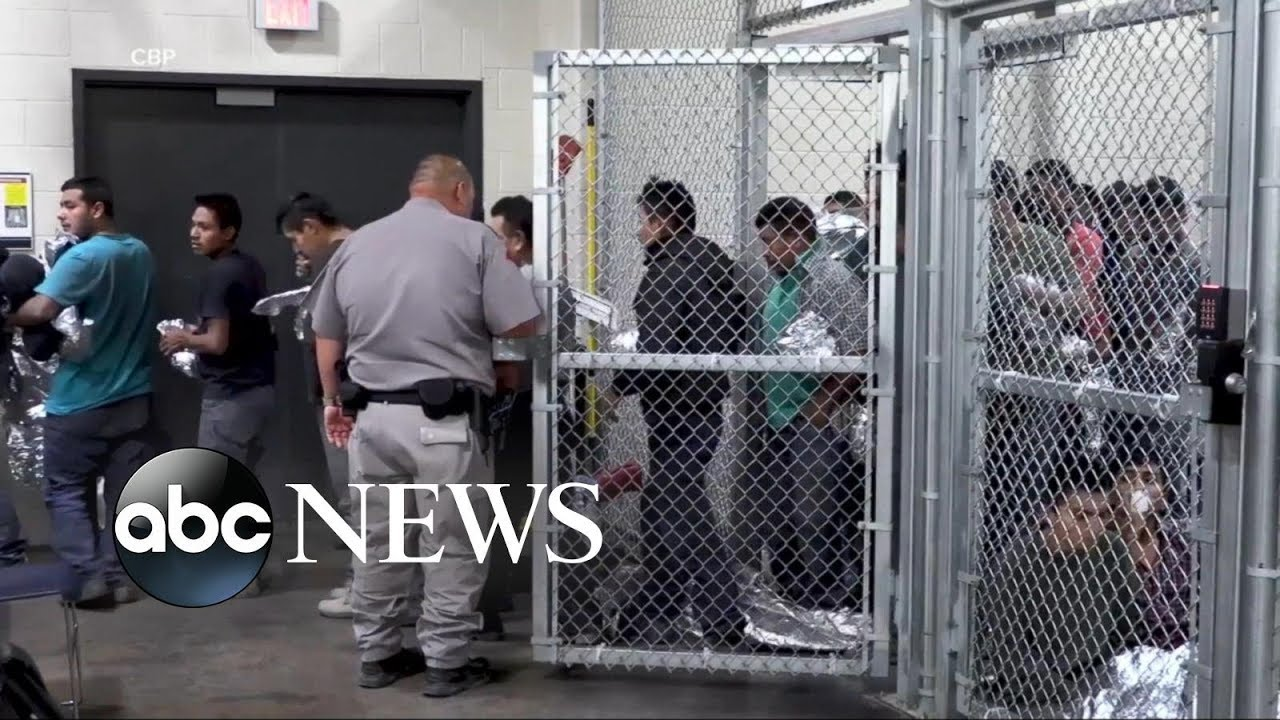 New video shows inside immigration processing facility