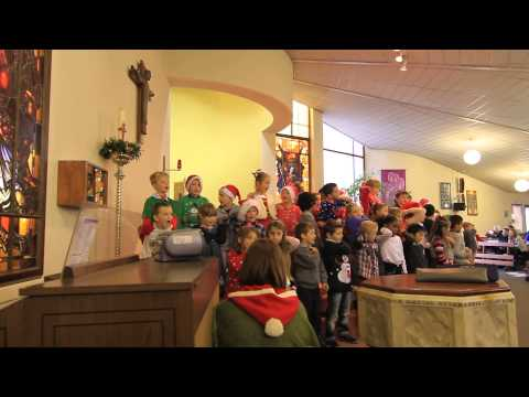 holy family school swords christmas show01