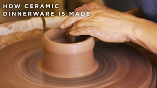 How Ceramic Dinnerware Is Made •Tasty