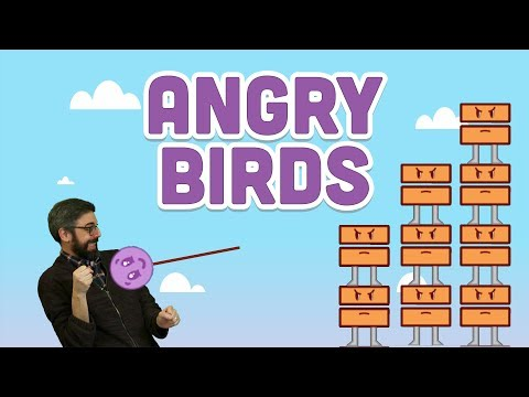 Coding Challenge #138: Angry Birds With Matter.js
