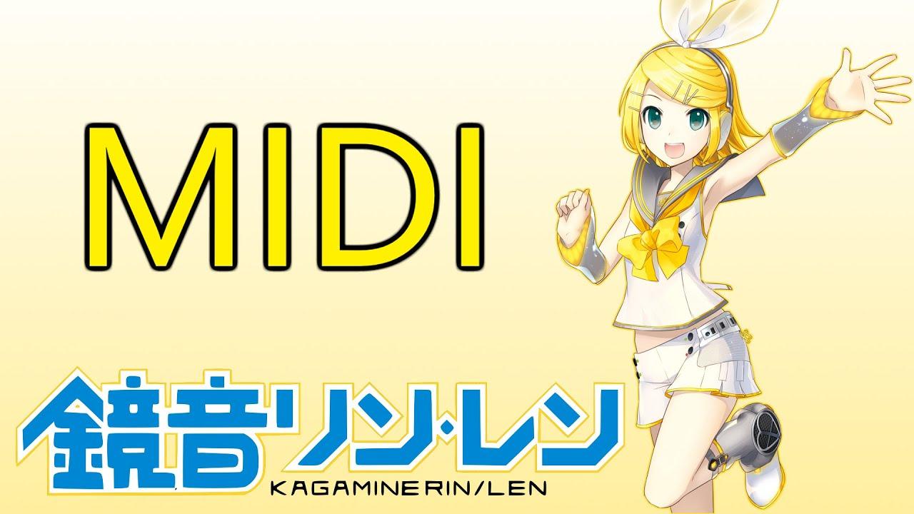 Kagamine Rin - Pantsu Nugeru Mon! (MIDI Cover)