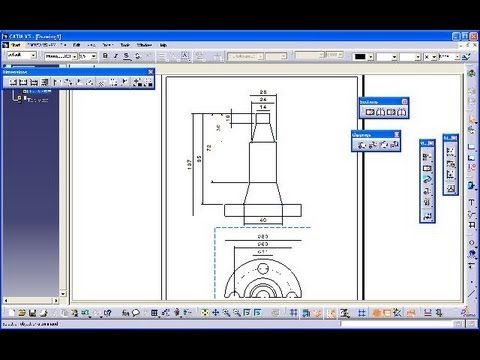 how to make a break out view in catia v5